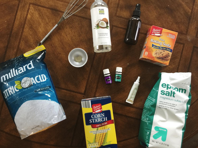 sleepy bath bomb ingredients