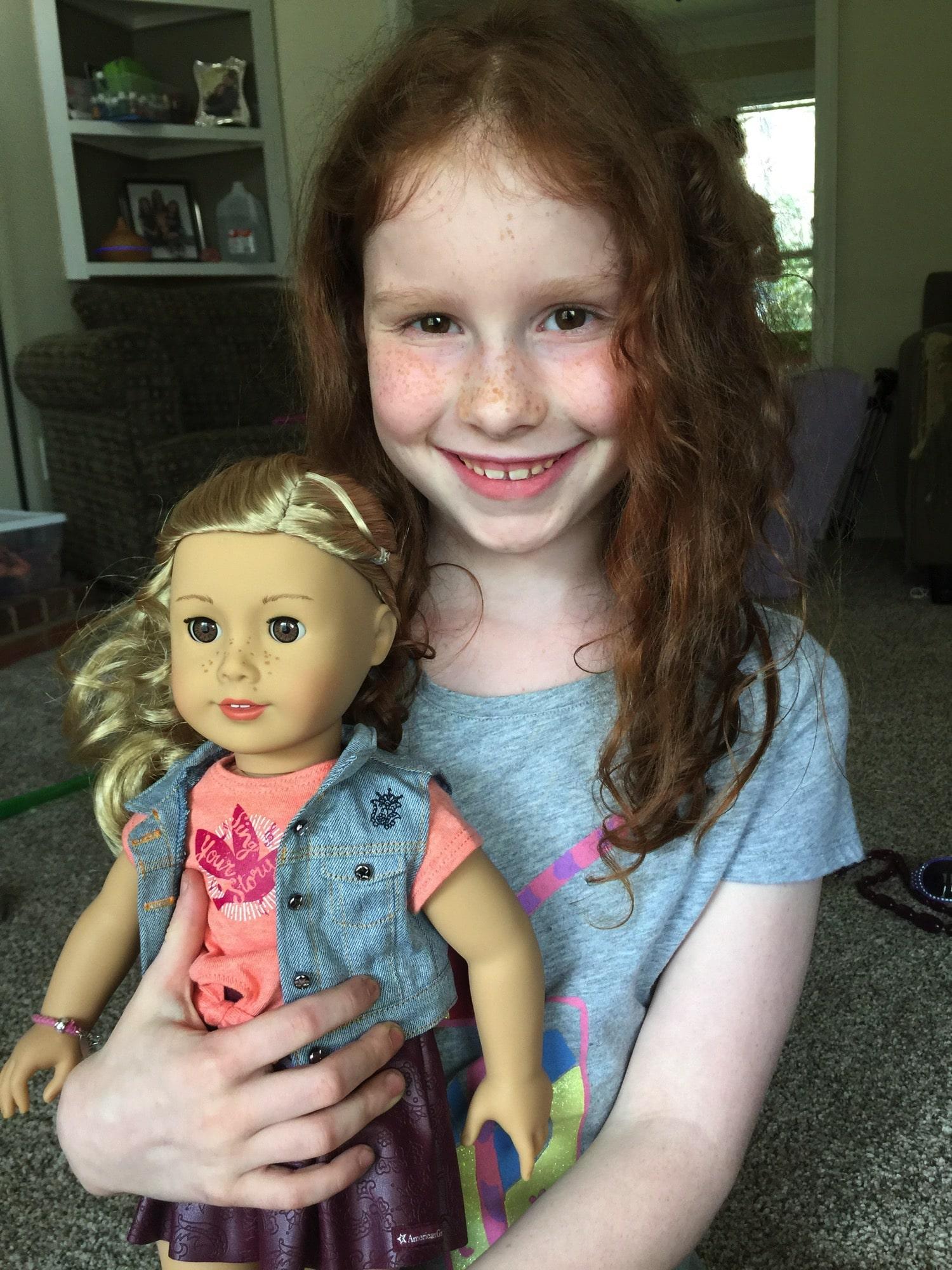 American Girl Doll Tenney