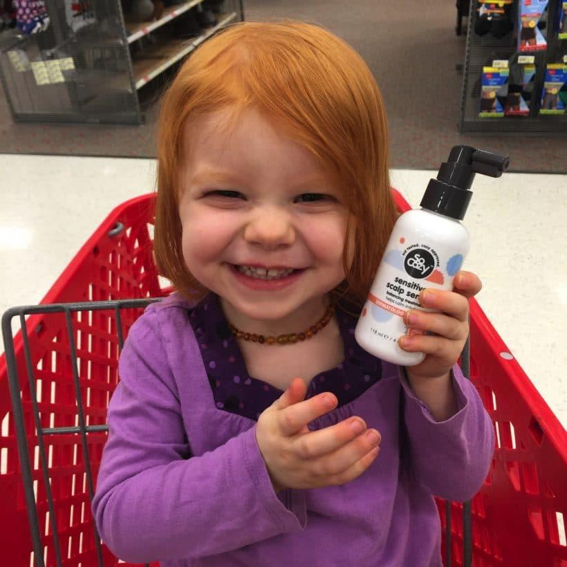 Teaching hair self-care to kids with sensitive skin