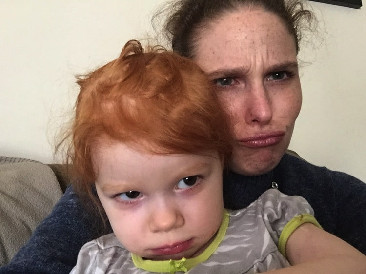 Pouts, smiles and snacks | Mommy and Me Monday | 368th ed