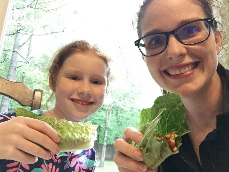 Gluten-free Dairy-Free Southwest BLT Lettuce Wraps   Mommy and Me Monday   375th ed