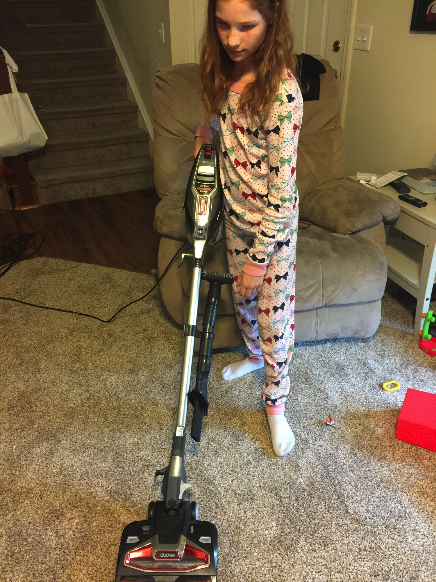 Vacuum carpet