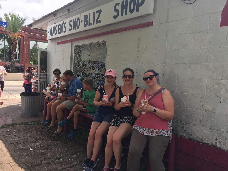 Hansen's sno-ball New Orleans