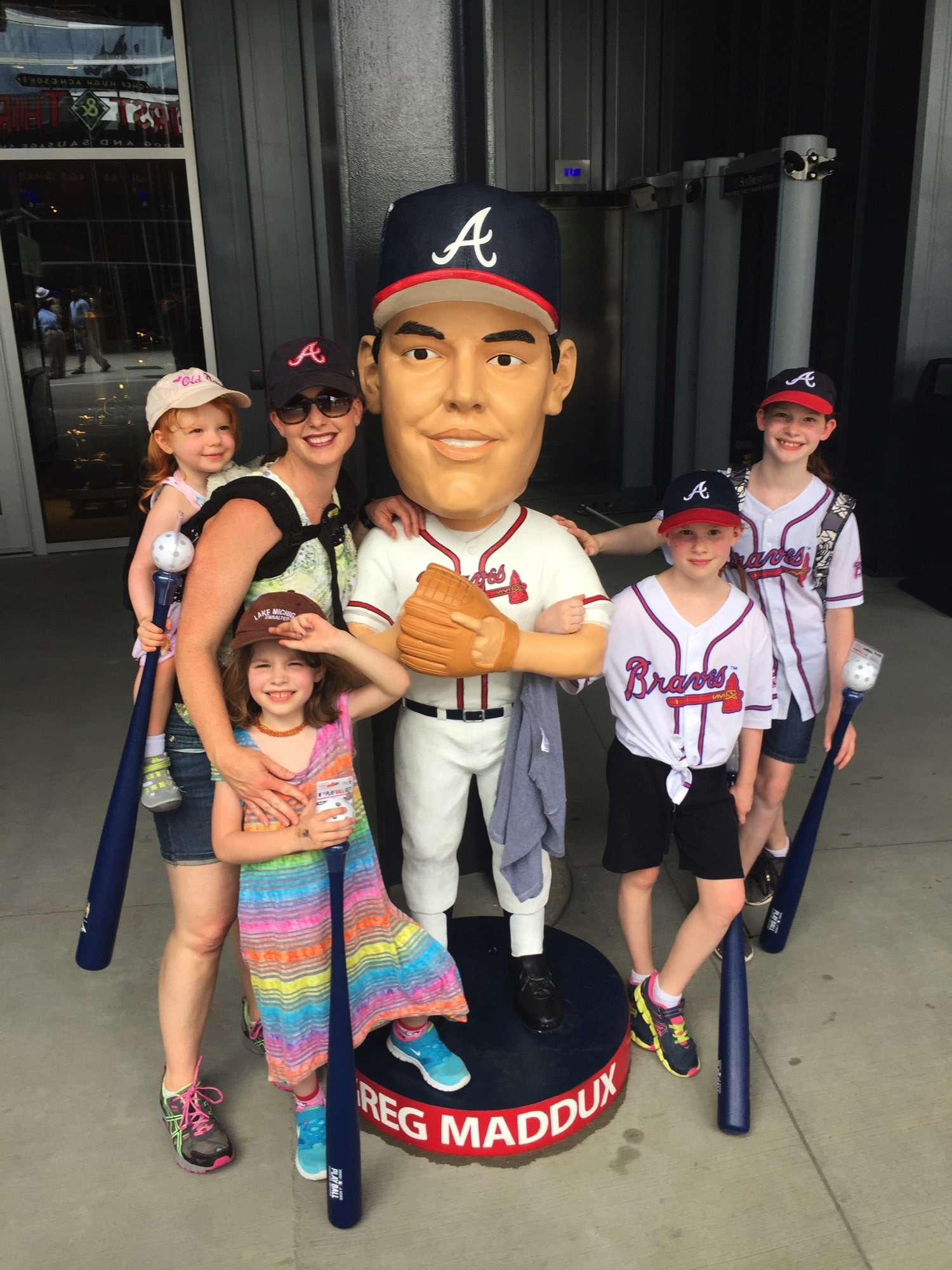 At the Braves Game