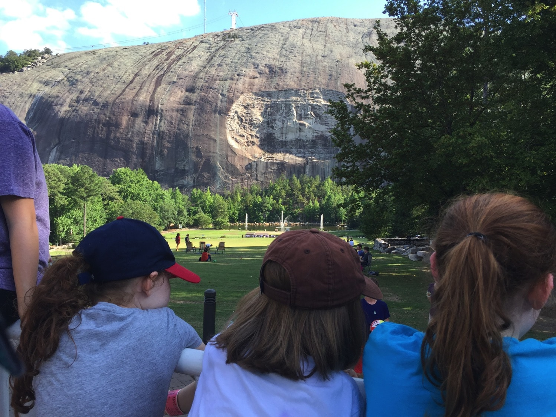 Stone Mountain Summer Laser Show