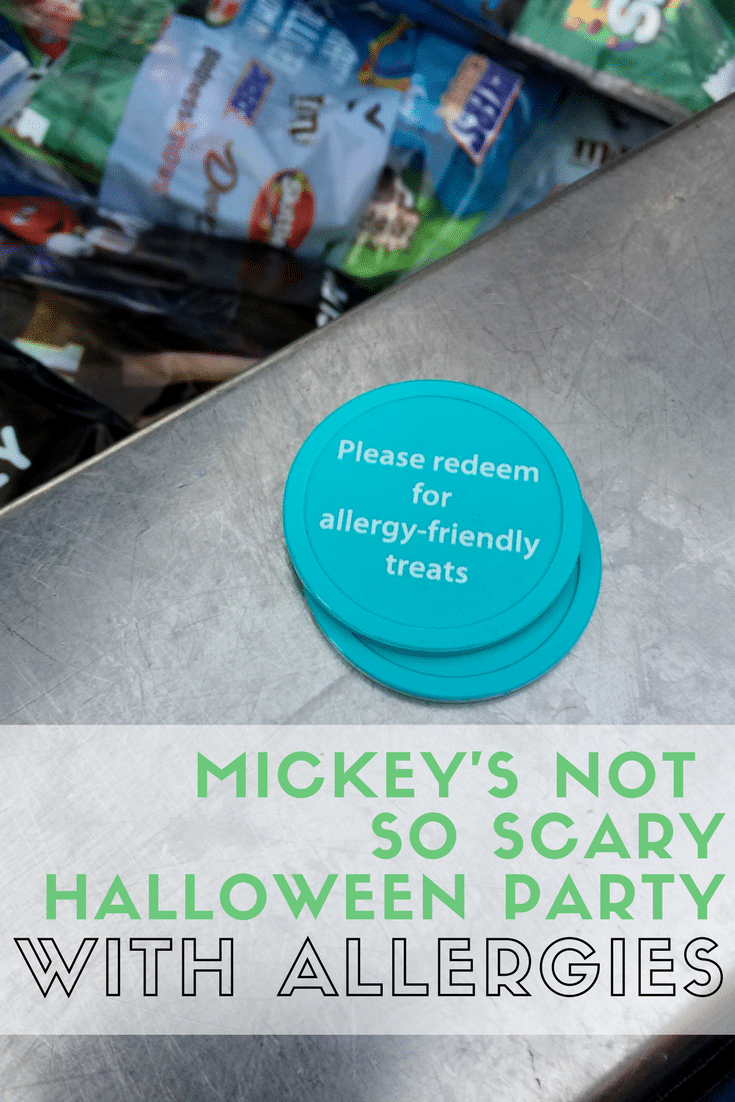 mickey's not so scary halloween party with allergies