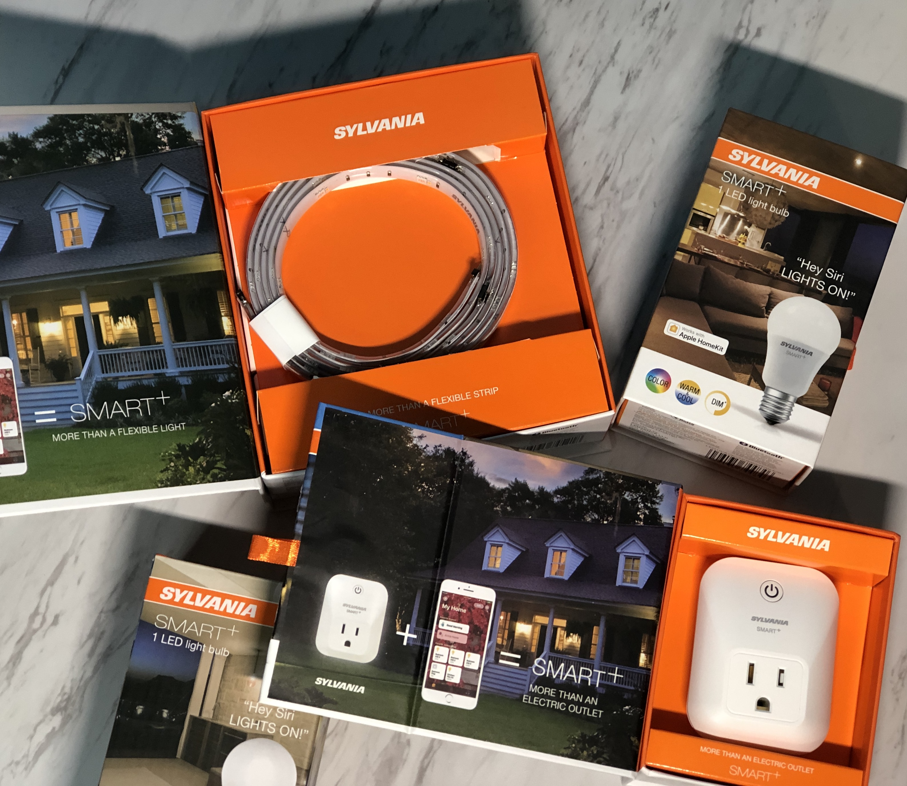 Sylvania smart lights and outlet