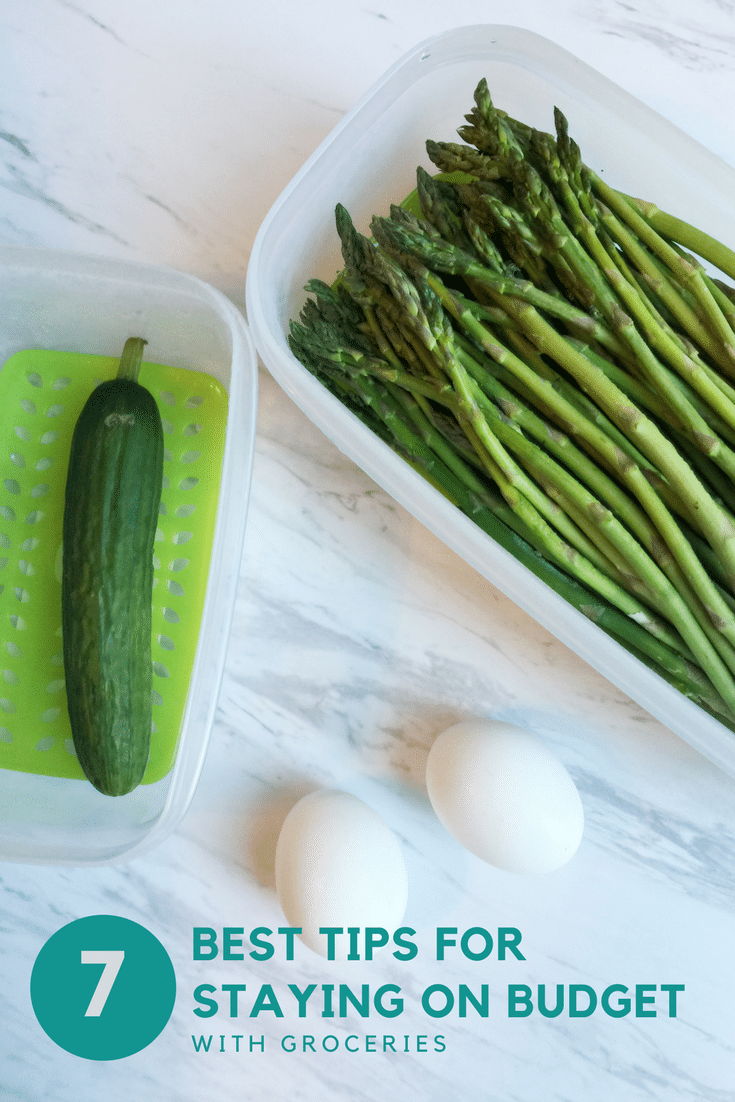 7 best tips for staying on budget with groceries