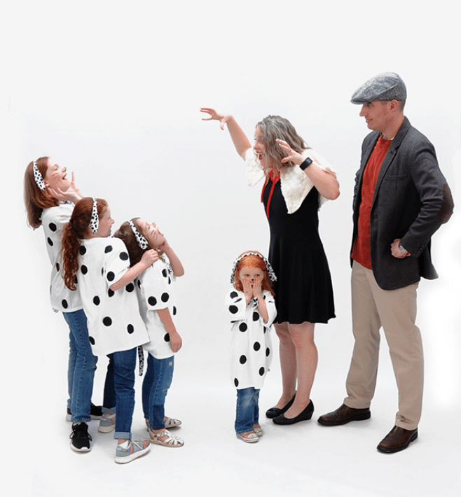 101 Dalmatians Costume Theme | The 400th Mommy and Me Monday