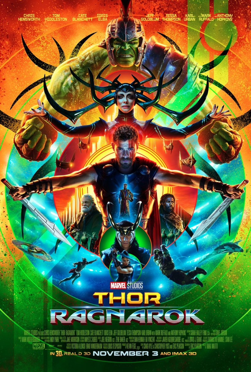 My thoughts on THOR: RAGNAROK (no spoilers)