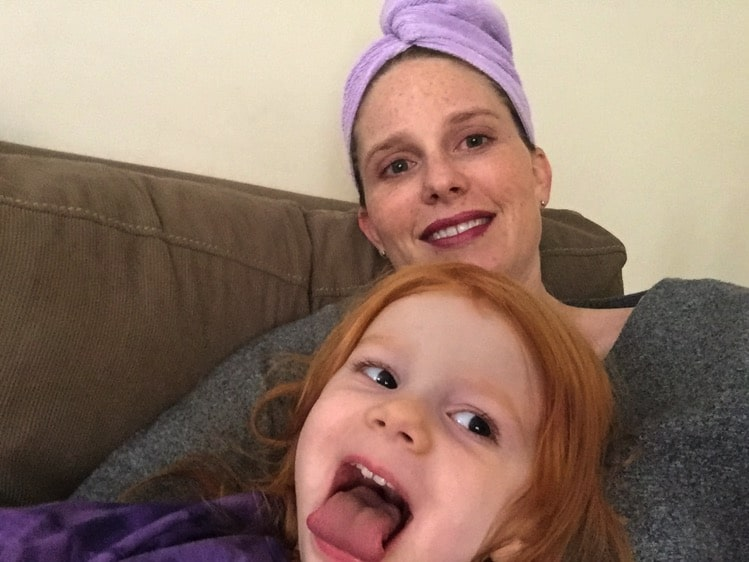 Lounging around and pumpkins | Mommy and Me Monday | 401st ed