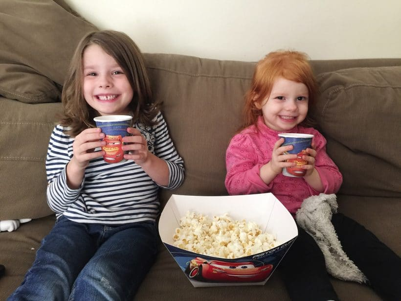 Movie afternoon with Cars 3 + Printables