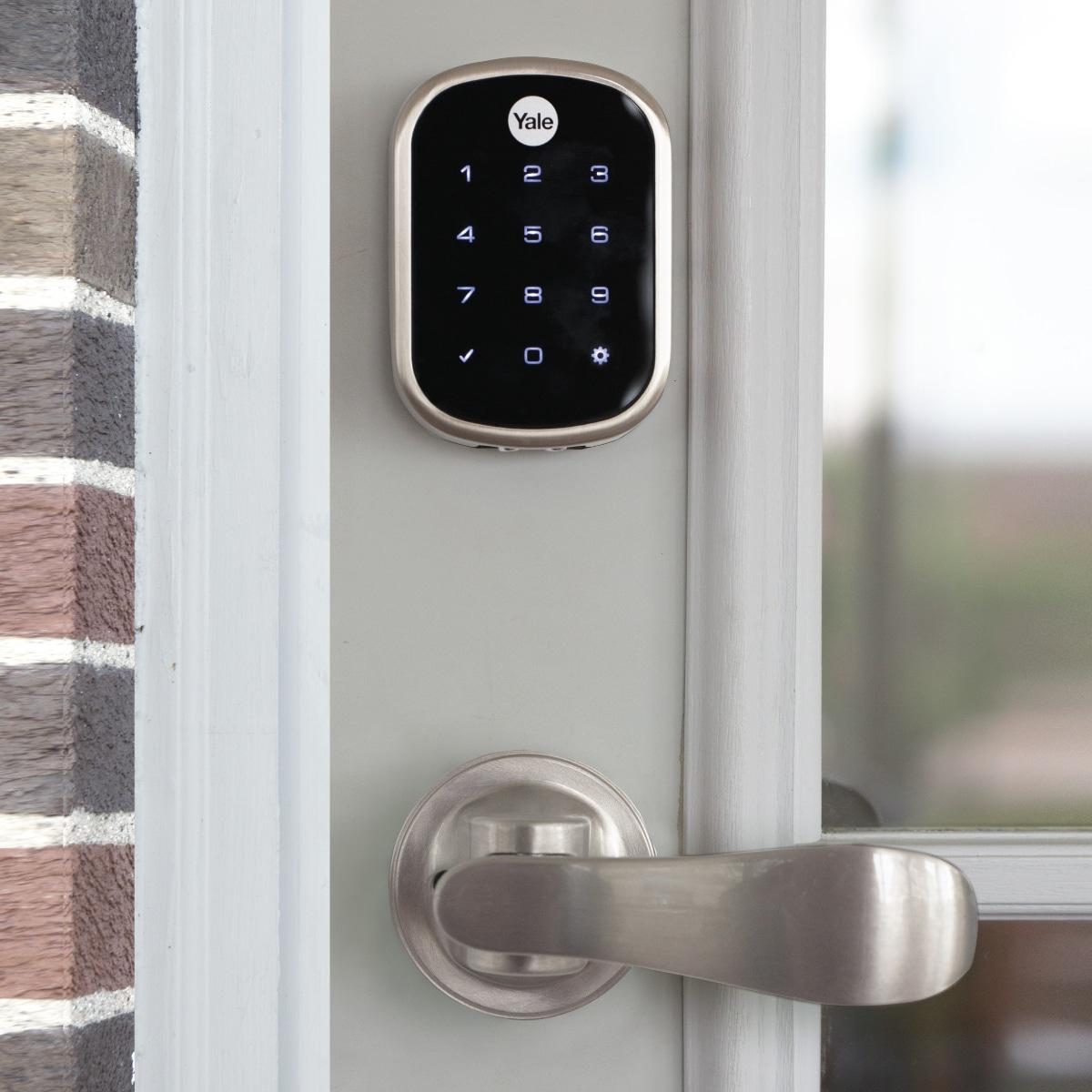 yale front door security