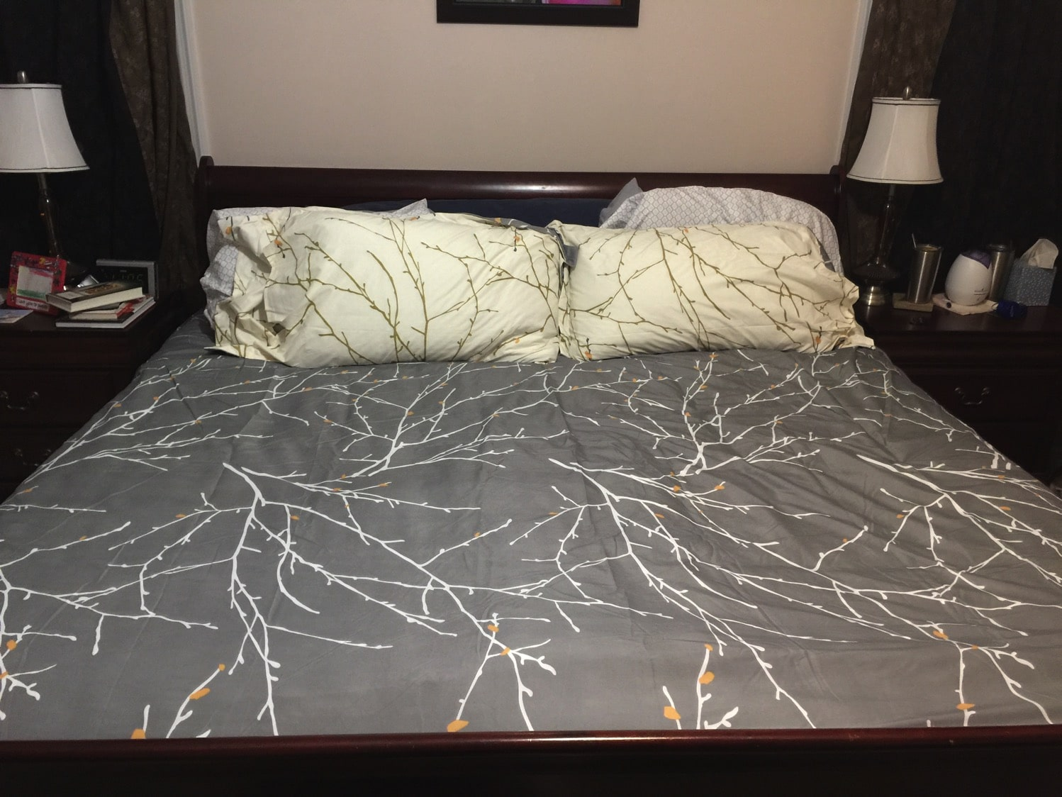 nectar mattress with bed made