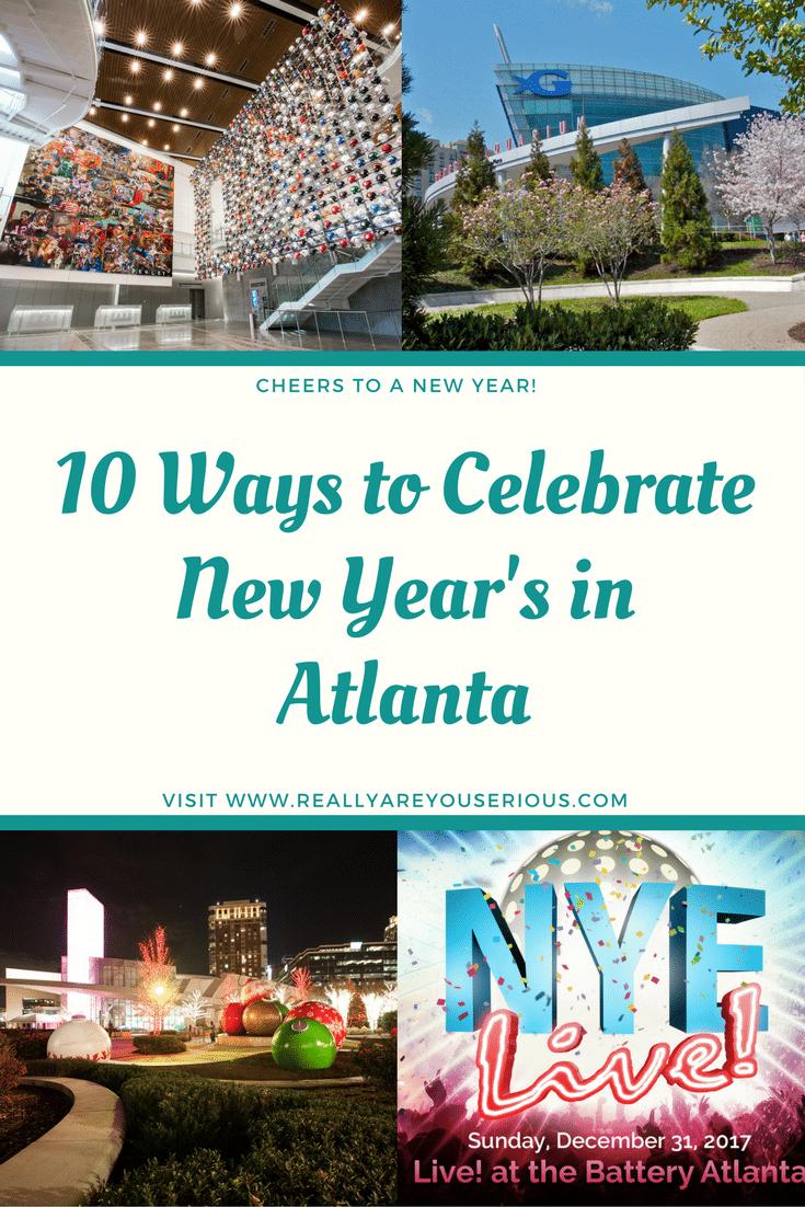 10 Ways to Celebrate New Year's in Atlanta