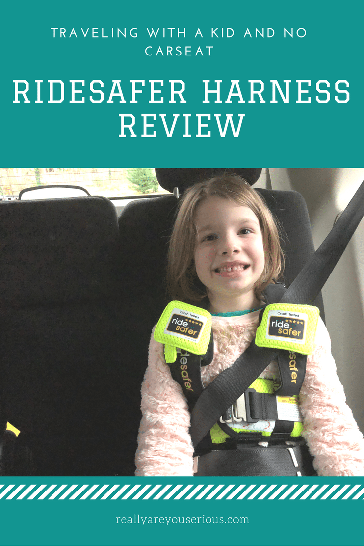 RideSafer Harness Review