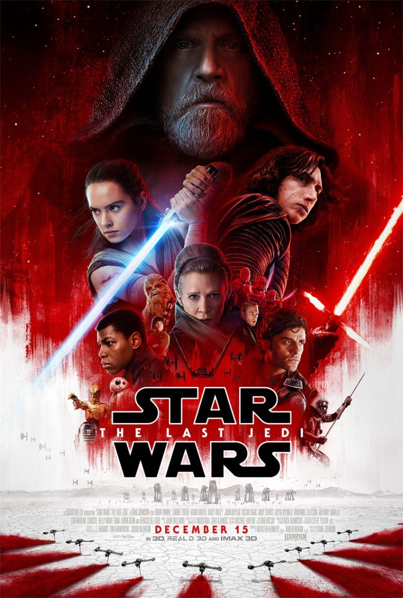 Spoiler-Free Star Wars: The Last Jedi: The Women, The Porgs, The Funny and Age Appropriateness with FREE activity sheets