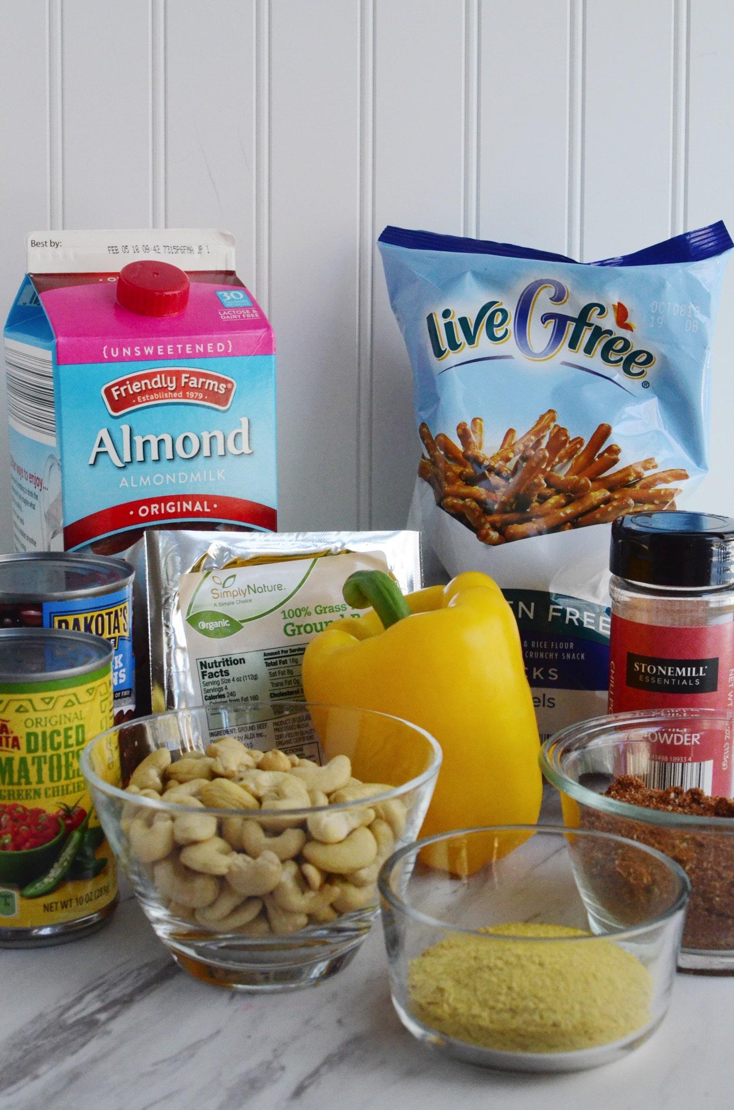 Dairy free chili cheese dip ingredients