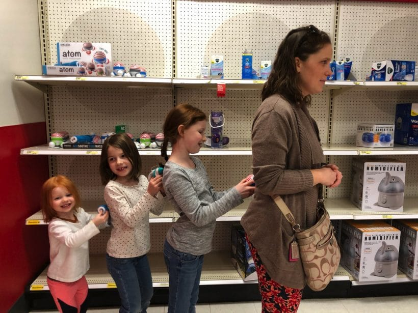 Massage Train | Mommy and Me Monday | 416th ed