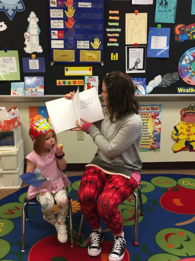 Mystery Reader with E and B | Mommy and Me Monday | 413th ed