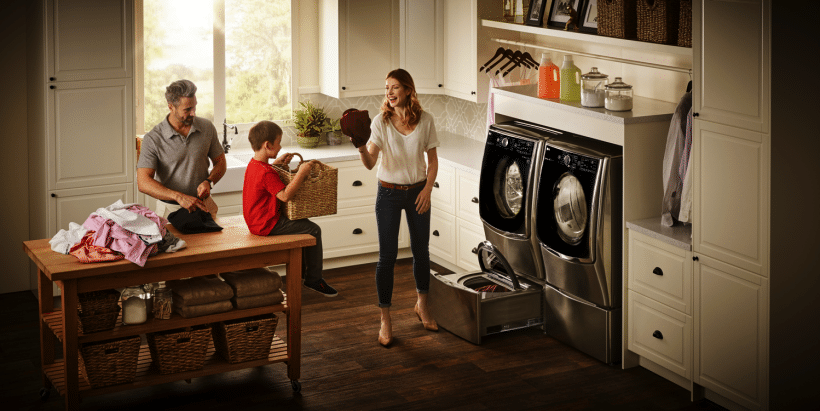Great washer for a big and busy family | LG TwinWash
