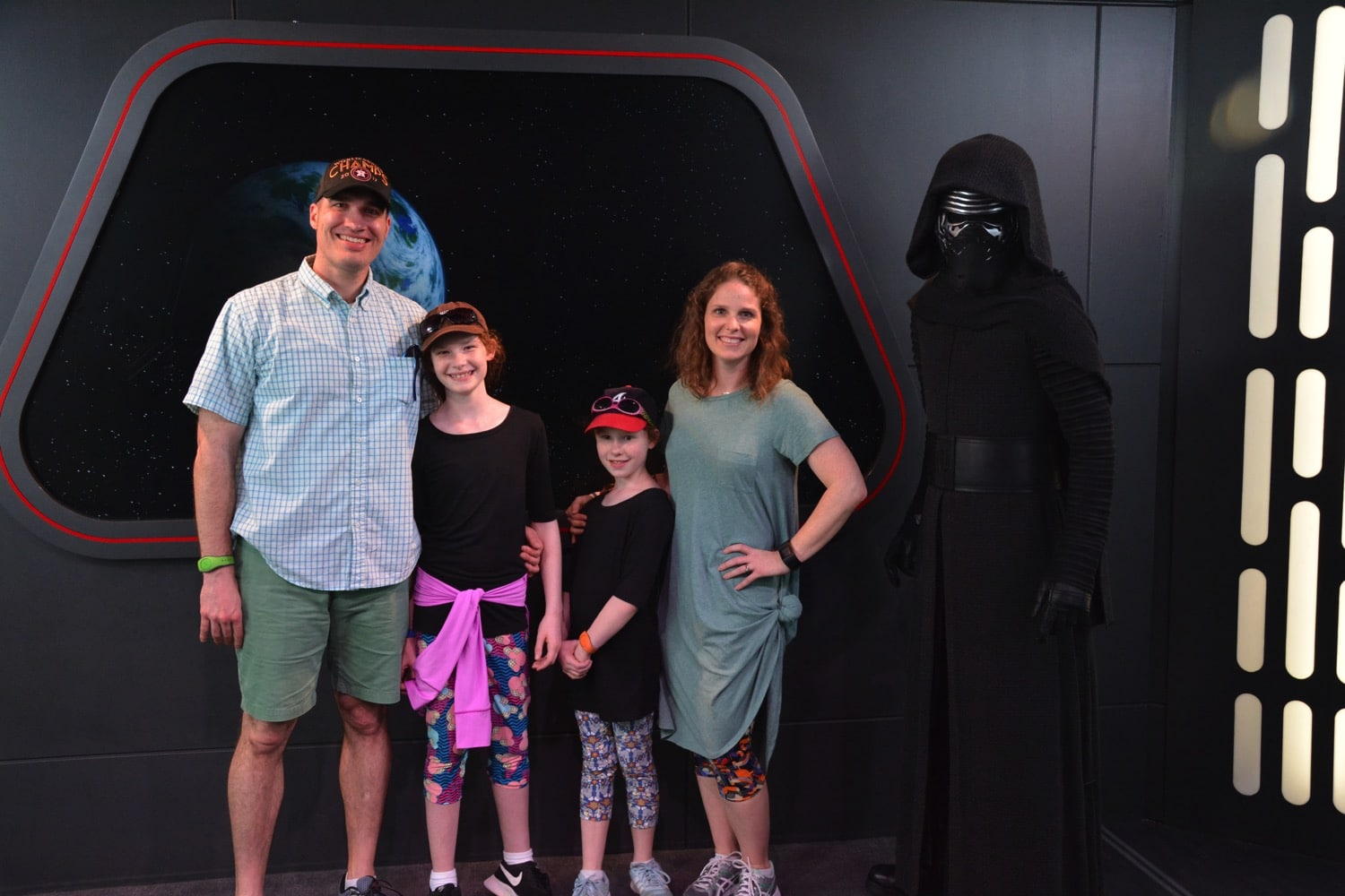 Visiting Kylo Ren Mommy and Me Monday
