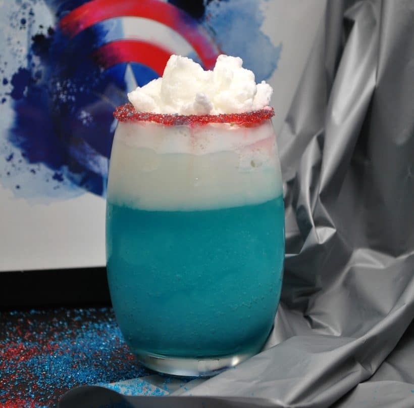 The Capsicle – Captain America Frozen Cocktail
