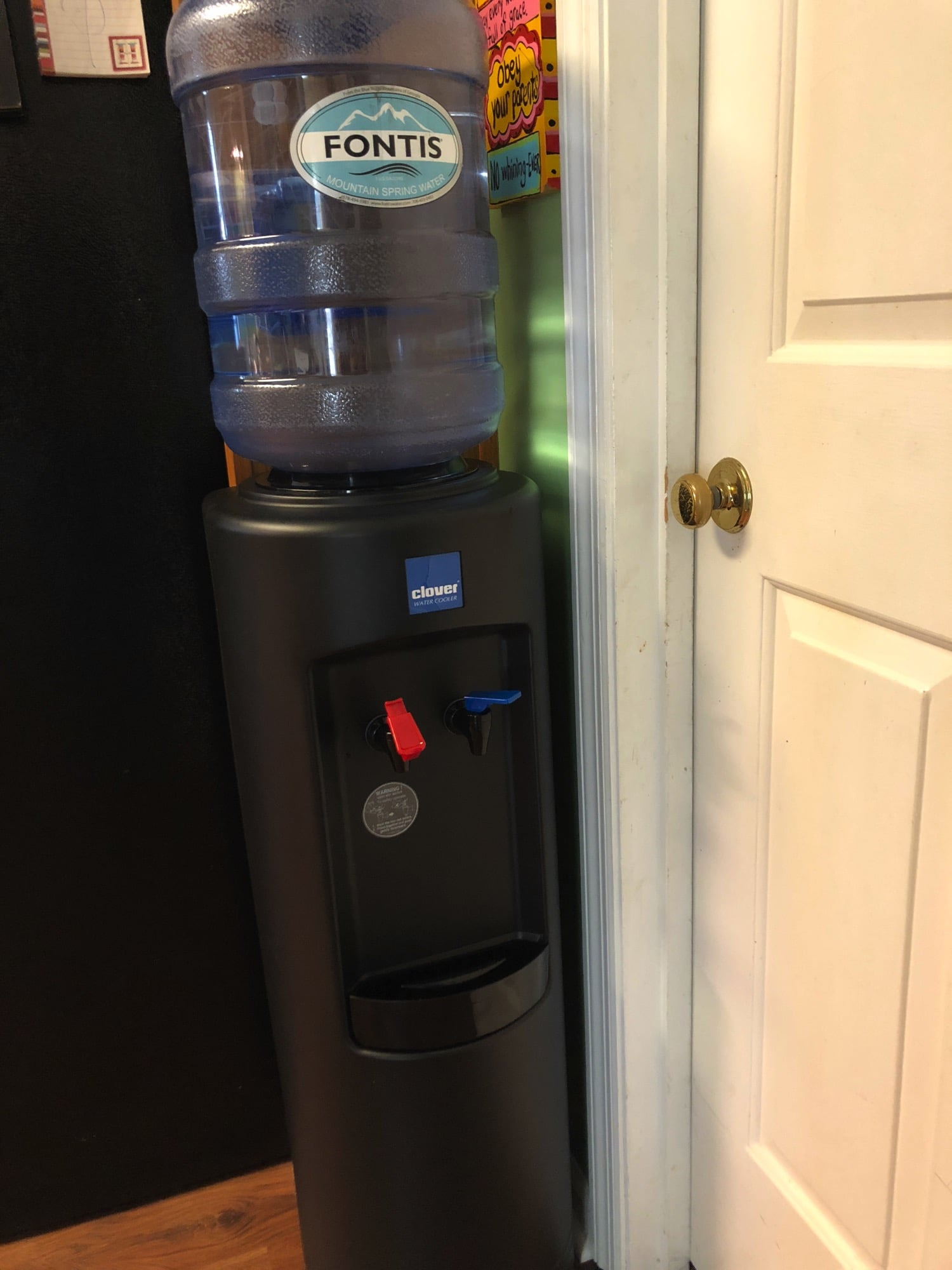 Fontis water review with water cooler