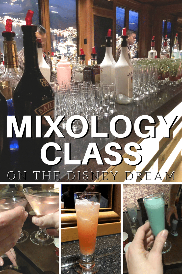 Mixology Class on the Disney Dream and Recipes