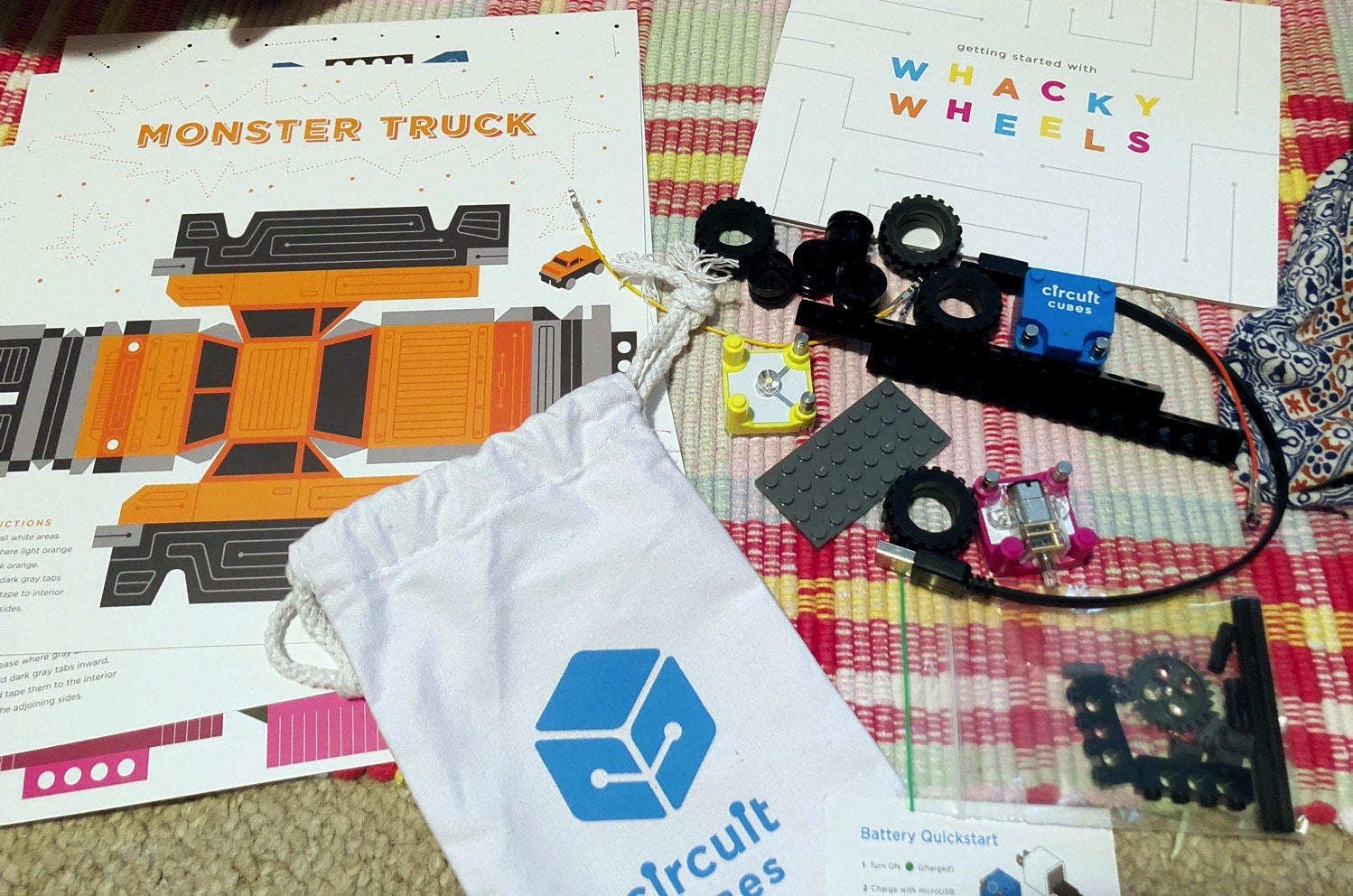 circuit cube whacky wheels Mommy and Me Monday