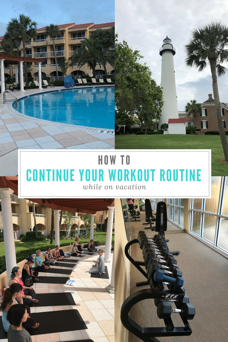 12 Fun ways to continue your workout routine while on vacation at Destinations like King and Prince Resort and More