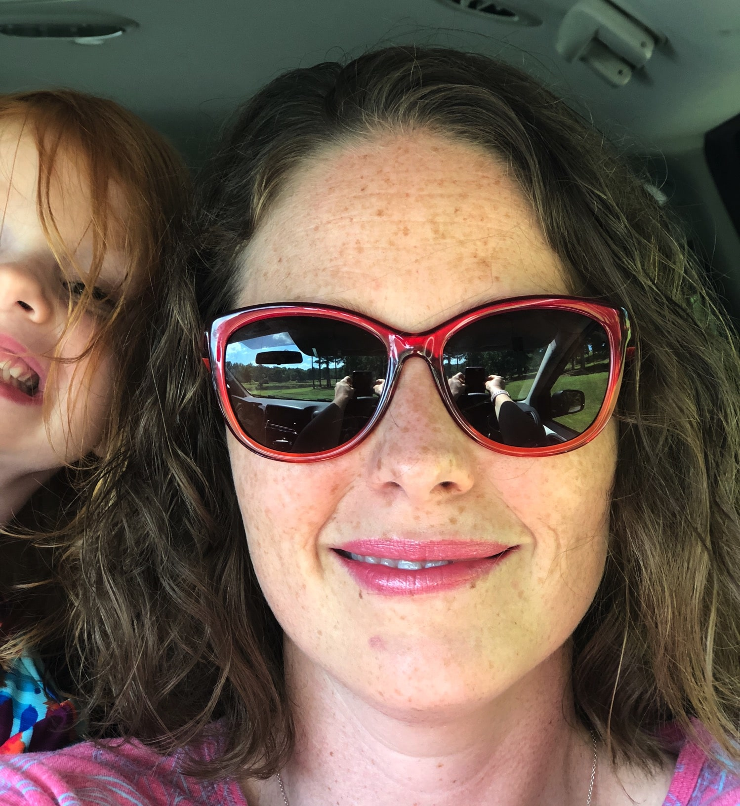 Mommy and Me Monday photobomber