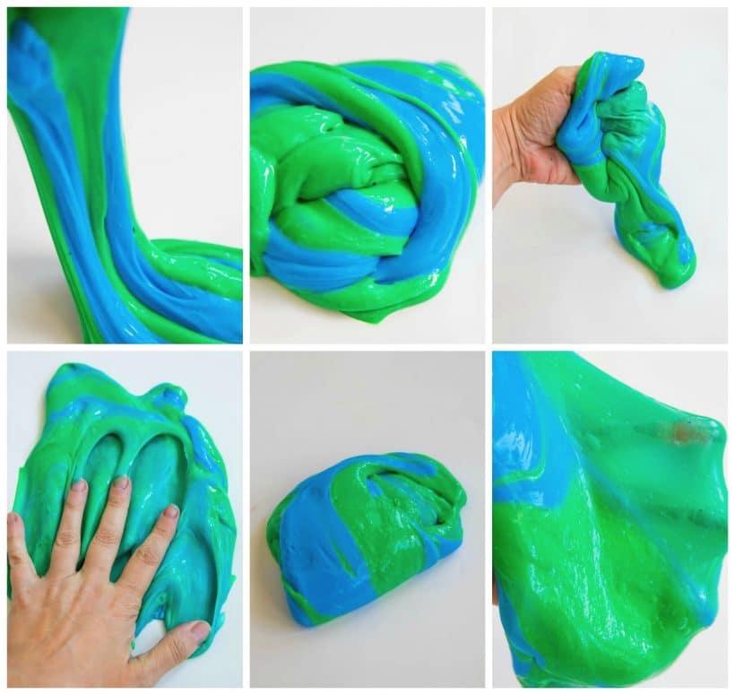 Earth Day Slime aka Stripped Slime