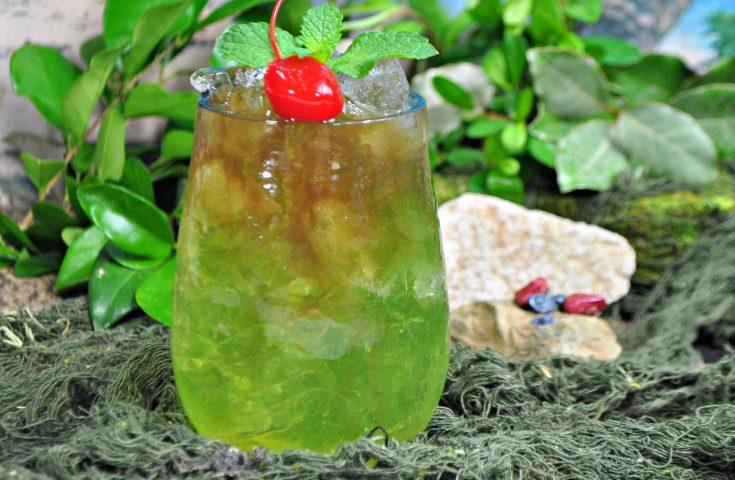 Raptor Cocktail inspired by Jurassic World: Fallen Kingdom