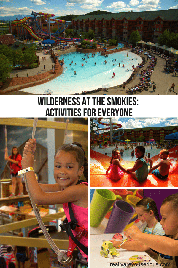 Wilderness at the Smokies Activities for Everyone
