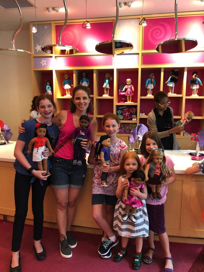 American Girl Salon | Mommy and Me Monday | 441st ed