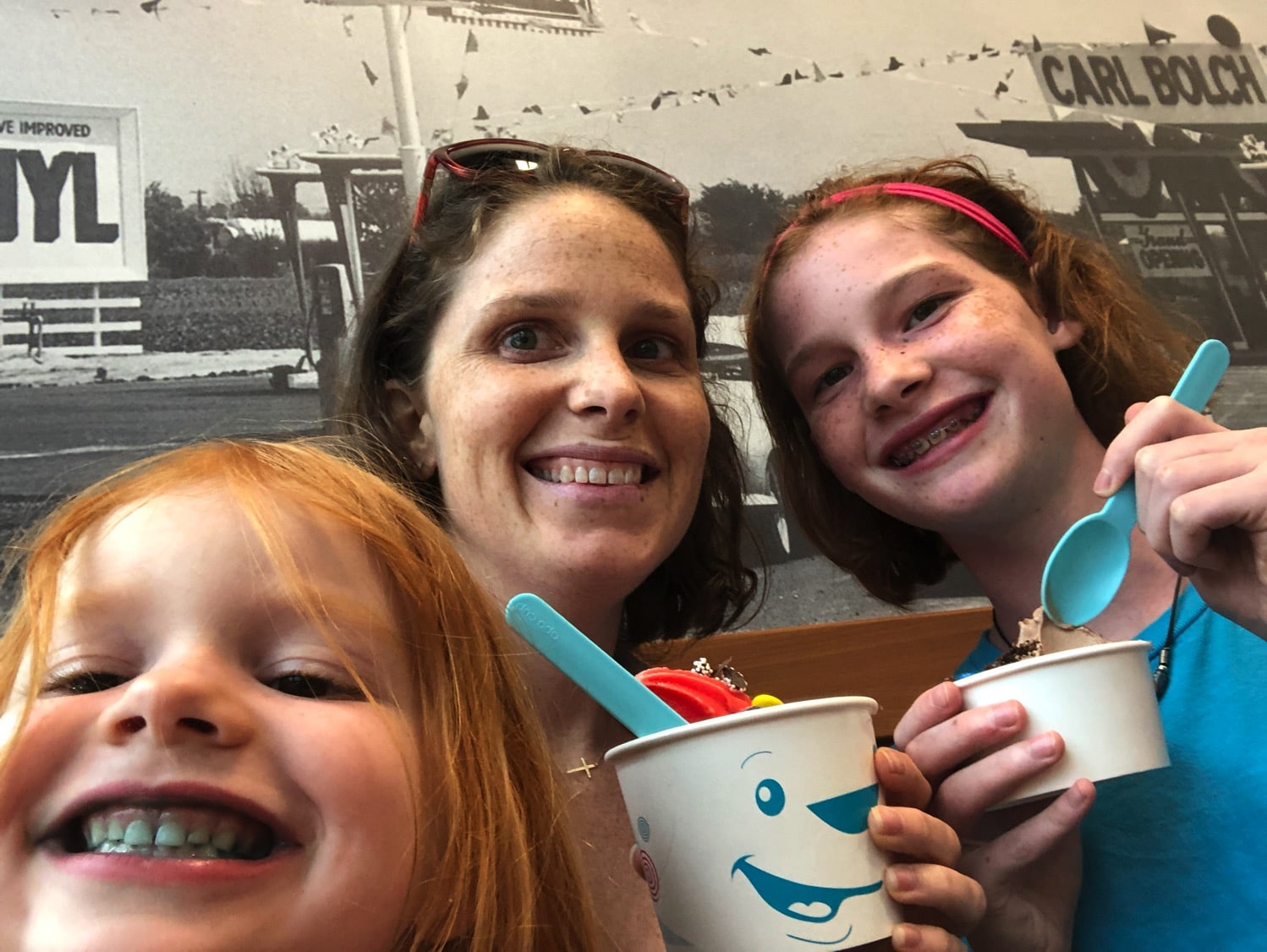 froyo with the girls