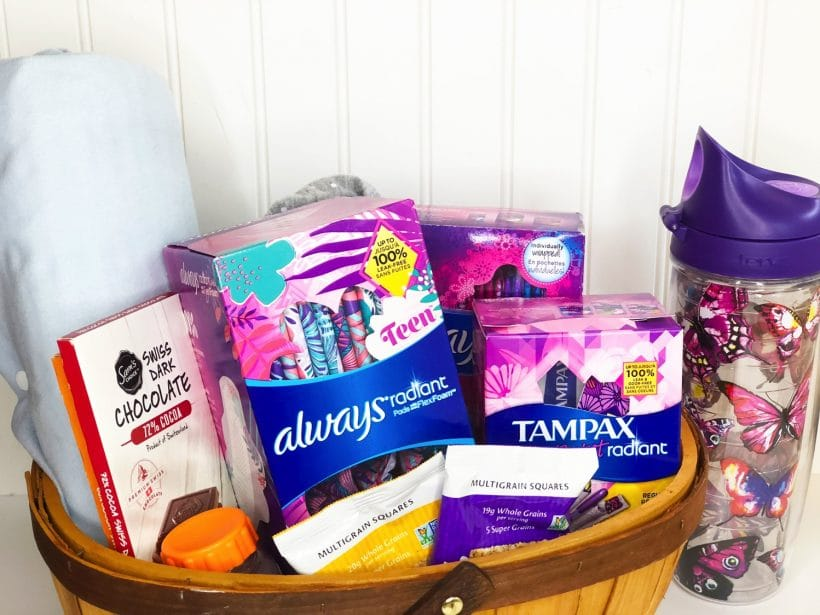 What you need in your period kit for home and back-to-school