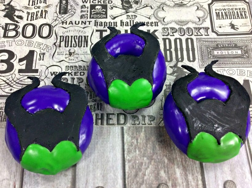 How to Make Maleficent Donuts with Video