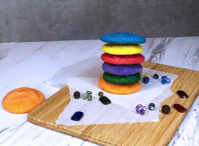 infinity stone cookies
