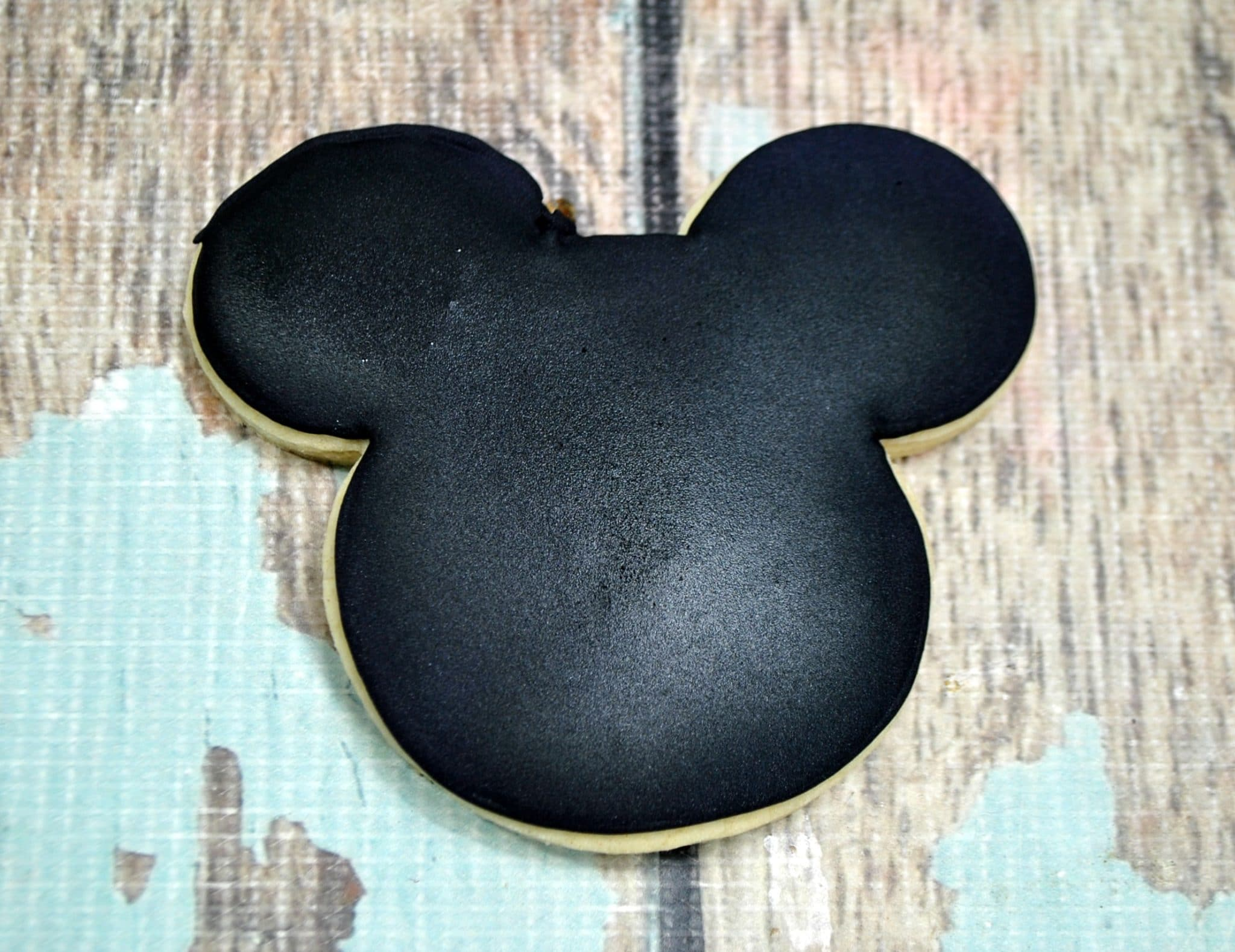 Mummy Mickey Sugar Cookie Filled in