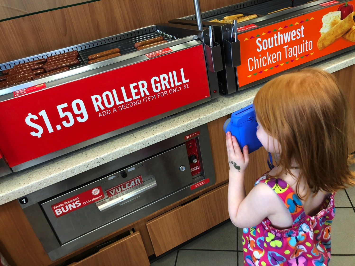 roller grill at racetrac