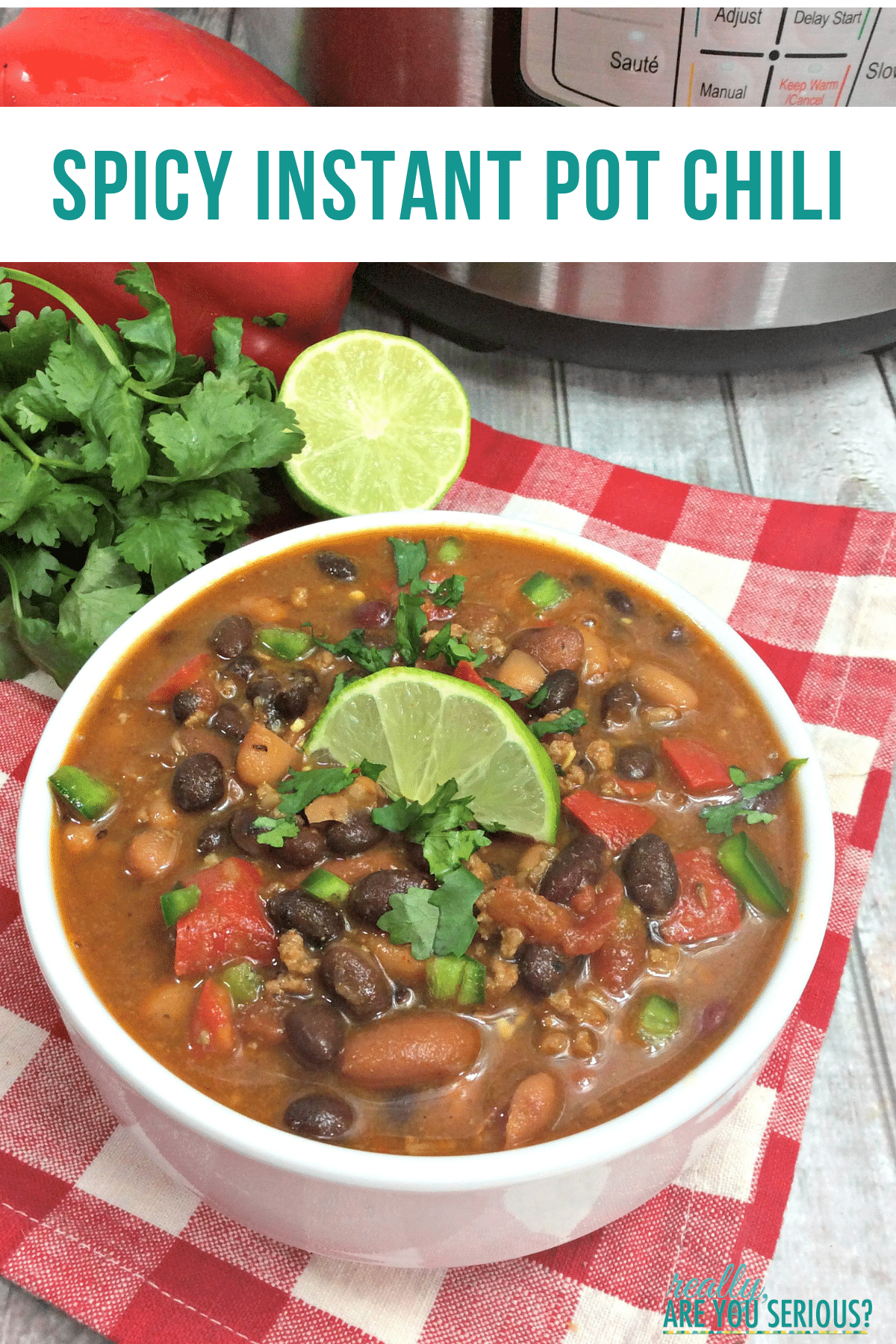 spicy instant pot chili