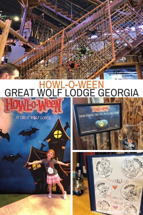 Great Wolf Lodge Georgia Howl-o-ween