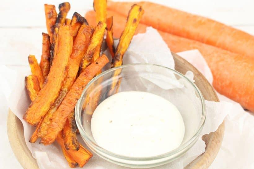 The best homemade baked carrot fries
