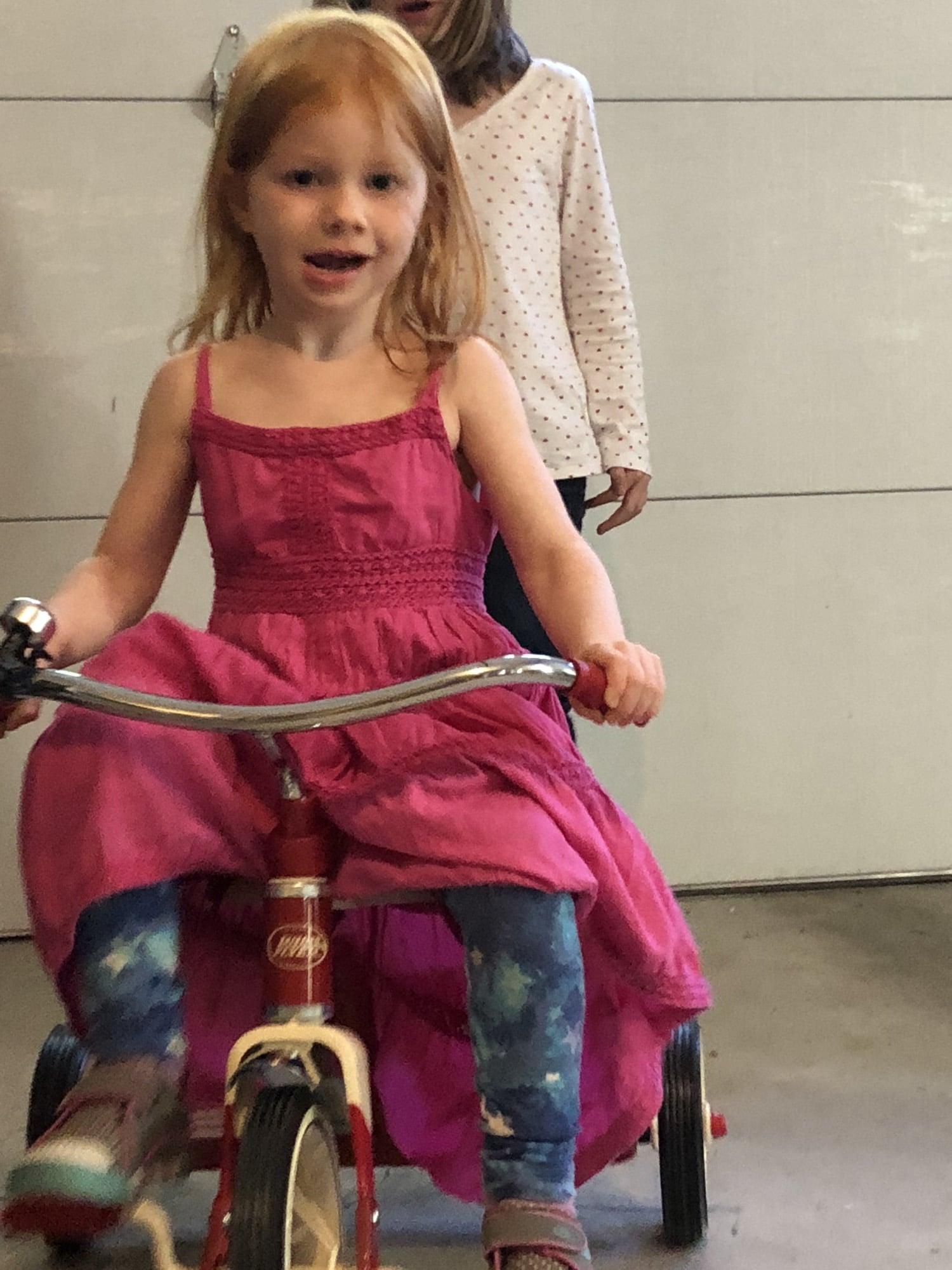 tricycle super mario party