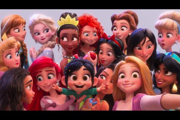 Disney Princesses RalphBreaksTheInternet