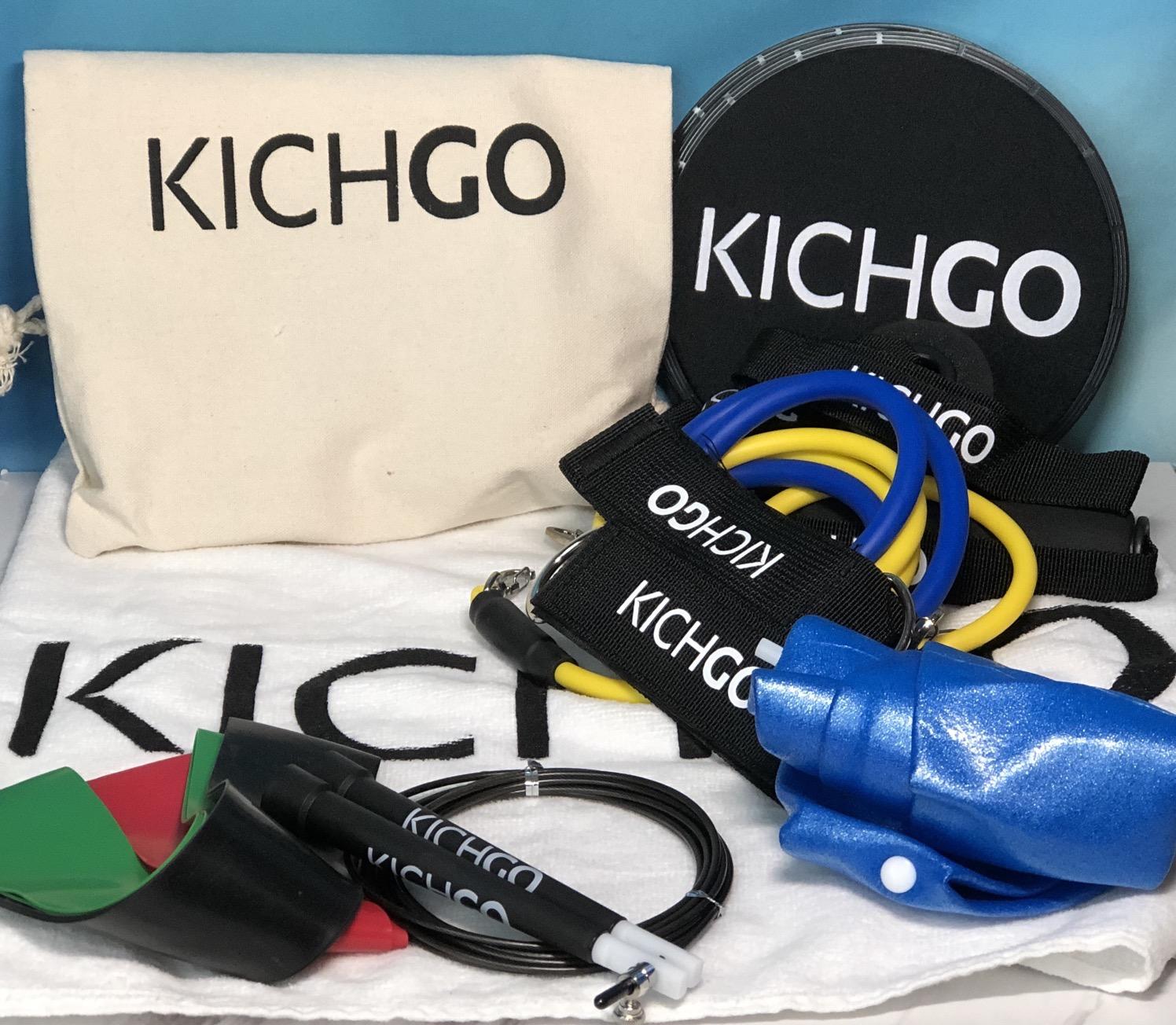 Kichgo a big gym in a little bag