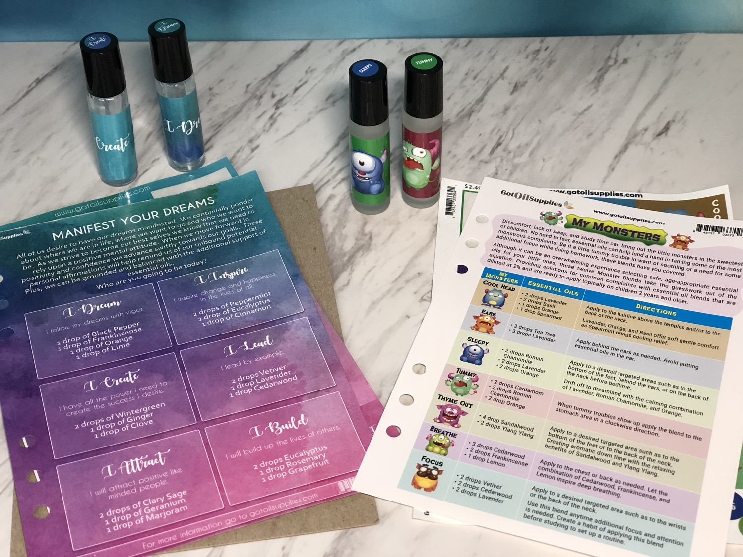 Manifest your dreams oily kit