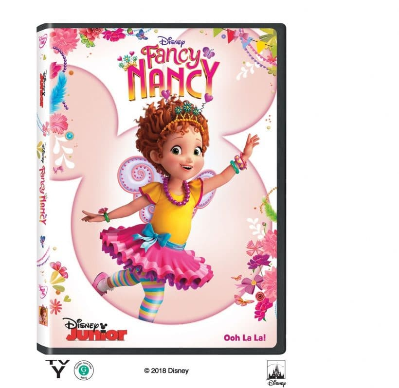 "Learn French the ""fancy"" way with Fancy Nancy with a free printable"